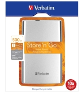 Externí pevný disk VERBATIM 500 GB (53021)