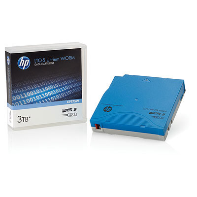 HP Ultrium páska, 3 TB, LTO-5, WORM Custom Labeled, 20 kusů (C7975WL)