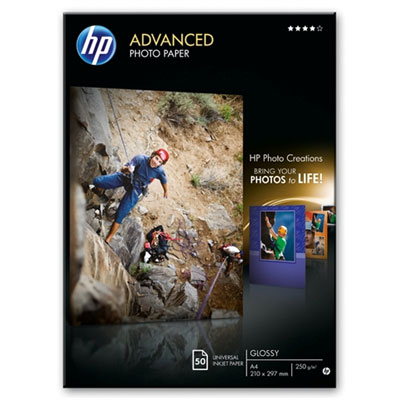 Fotopapír HP Advanced Photo - lesklý, 50 listů A4 (Q8698A)