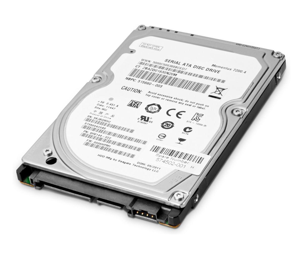 Pevný disk HP - 500 GB (T0K73AA)