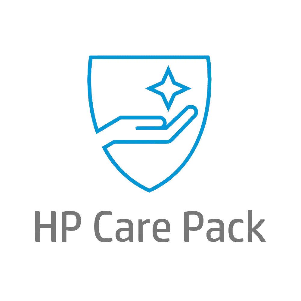 HP Care Pack - Oprava u zákazníka následující pracovní den, 3 roky + DMR (UE335E)