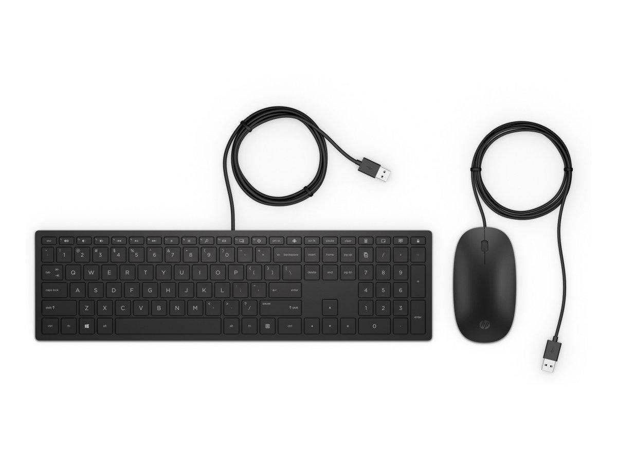 USB klávesnice a myš HP Pavilion 400 (4CE97AA#AKB)