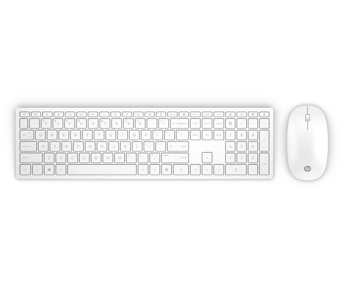 Bezdrátová klávesnice a myš HP Pavilion 800 - bílá (4CF00AA#AKB)