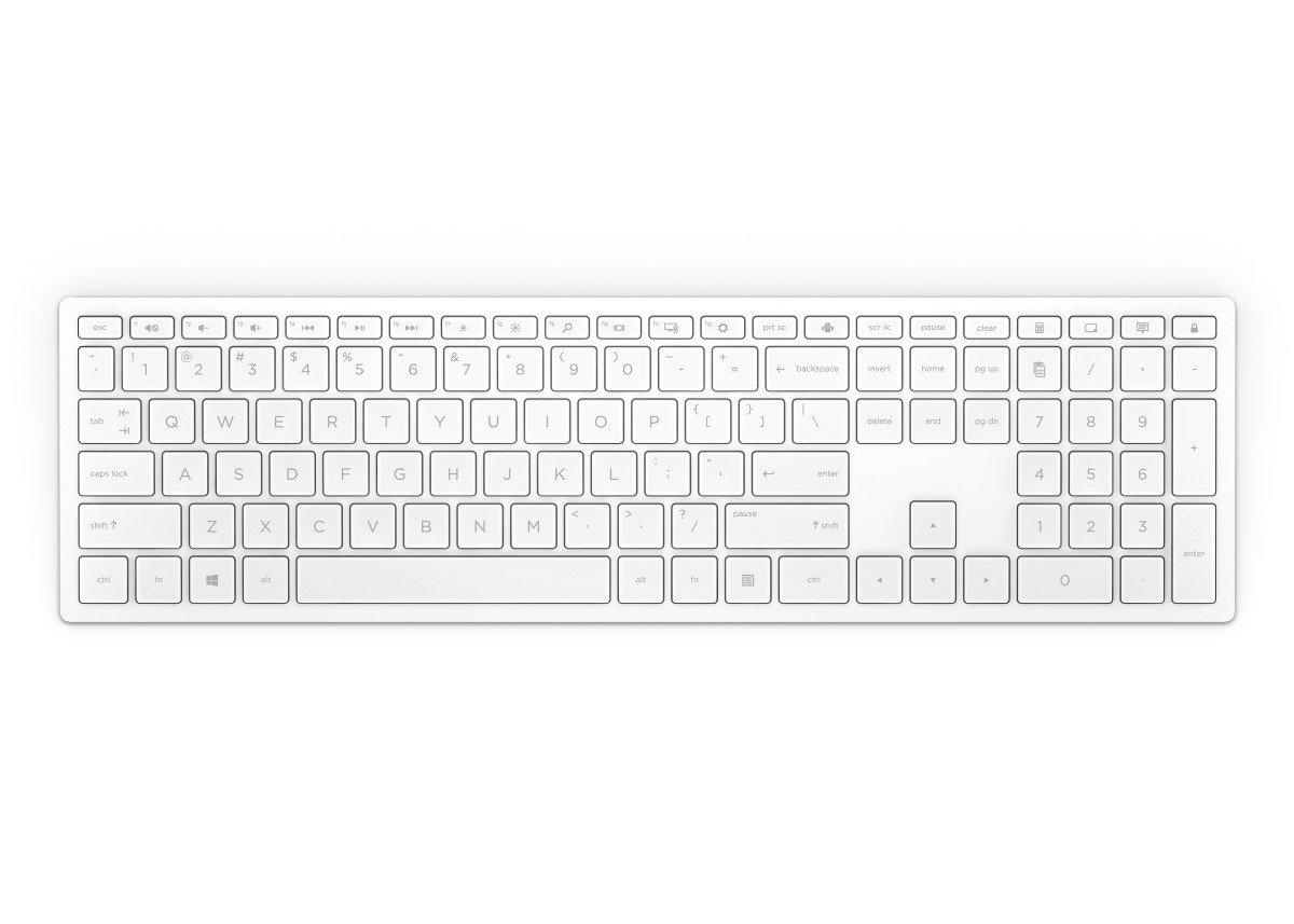 Bezdrátová klávesnice HP Pavilion 600 - bílá (4CF02AA#AKB)