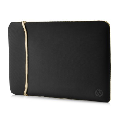 "Pouzdro reversible sleeve 14"" - gold + black"