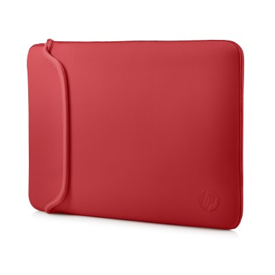 "Pouzdro reversible sleeve 14"" - black + red"