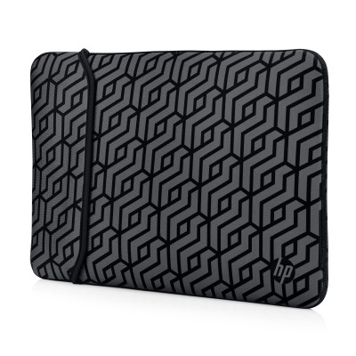 "Pouzdro reversible sleeve 15,6"" - geometric"