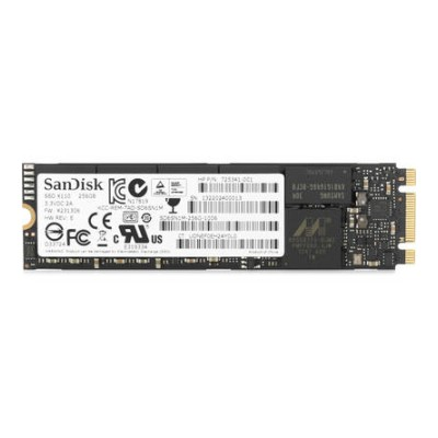 M.2 SSD disk HP Turbo Drive G2 -  256 GB (1CA51AA)