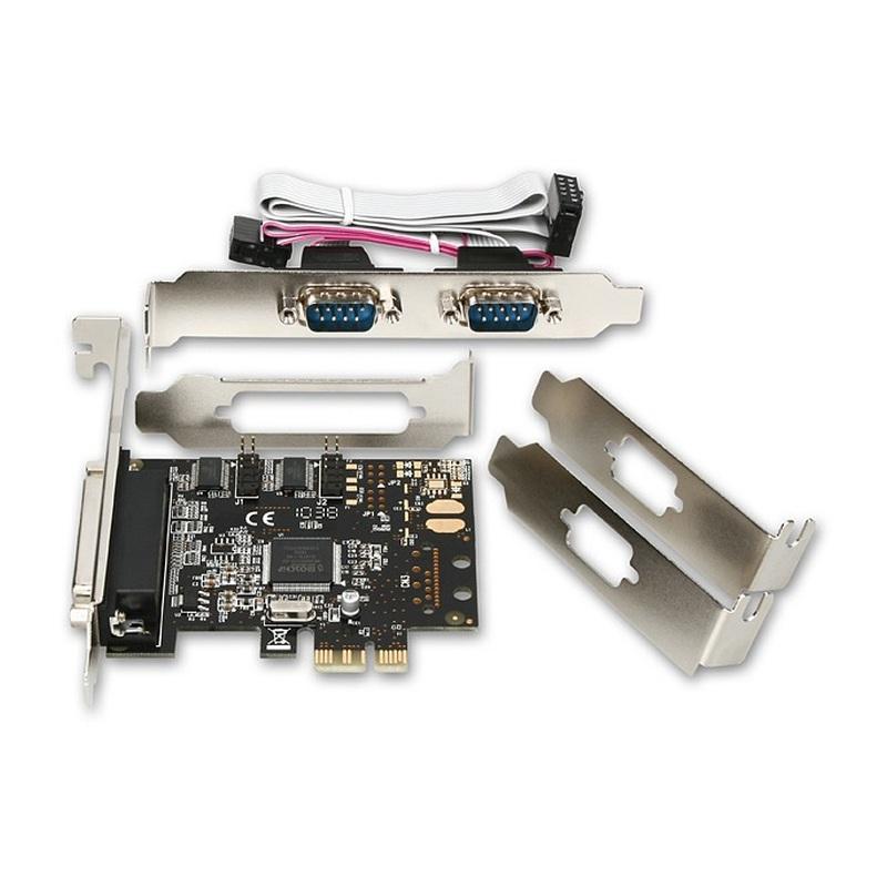PCI Express adaptér AXAGO 1x paralelní + 2x sériový port (PCEA-PS)