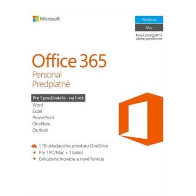 Office 365 pro jednotlivce SK (QQ2-00791)
