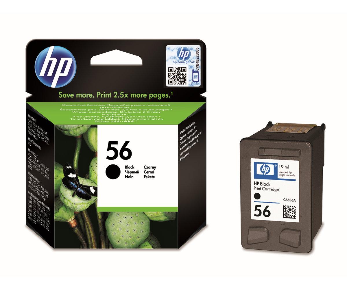 Inkoustová náplň HP 56 černá (C6656AE#UUQ)