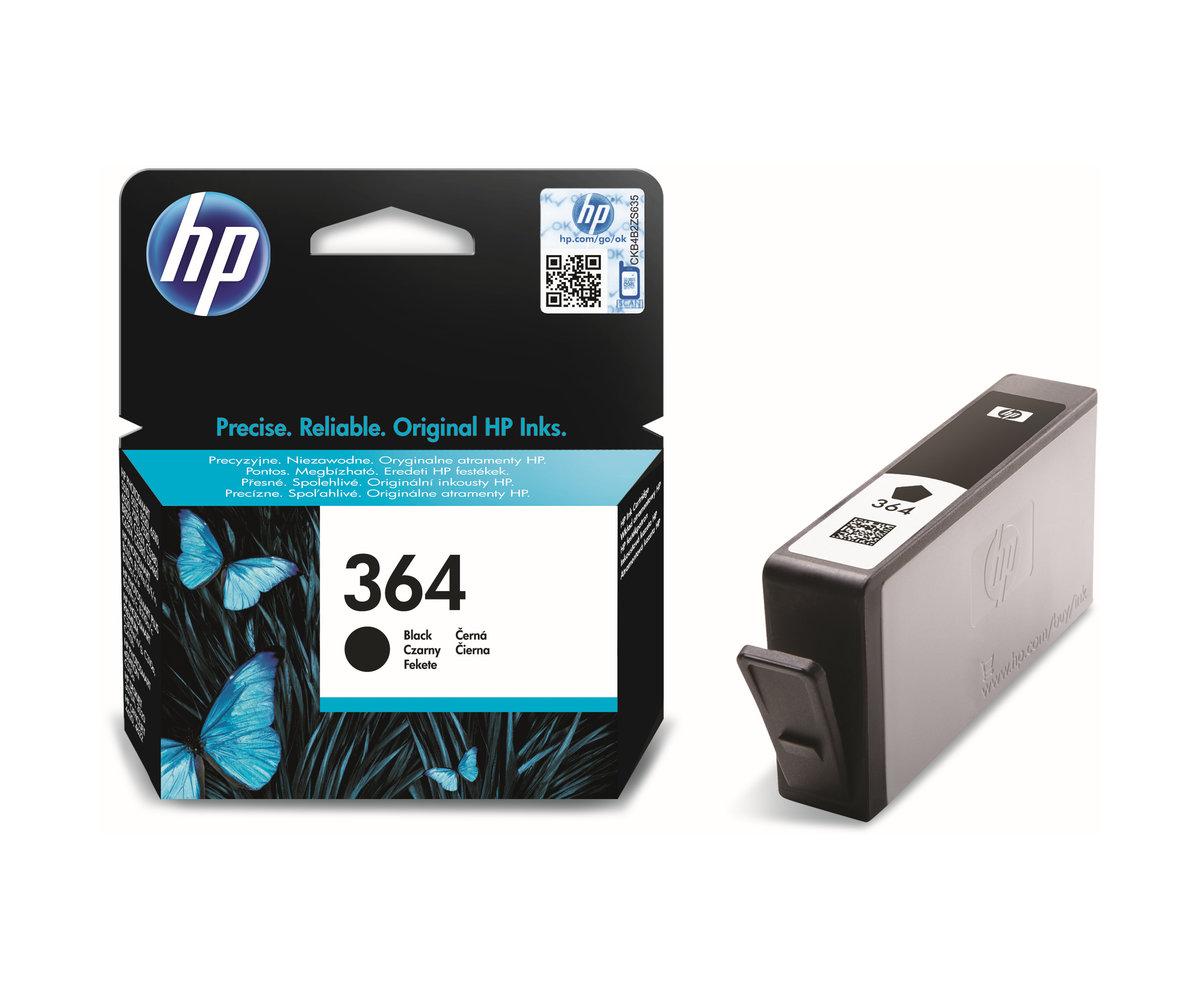 Inkoustová náplň HP 364 černá (CB316EE#BA3)