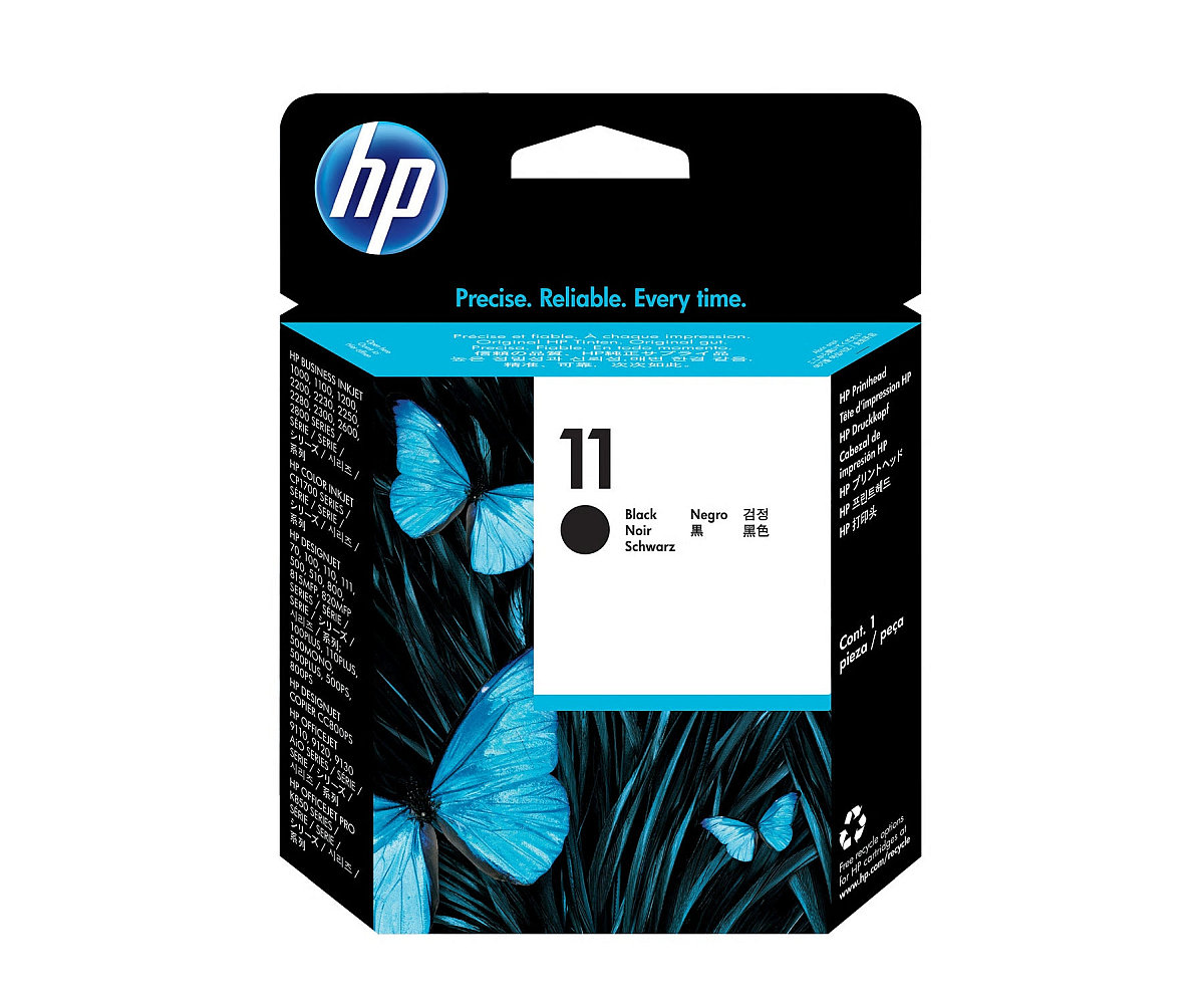 Tisková hlava HP 11 černá (C4810A)