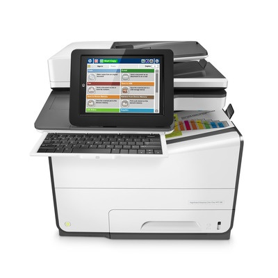 HP PageWide Enterprise Color 586z Flow