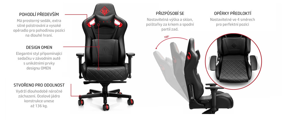 OMEN by HP Citadel Gaming Chair